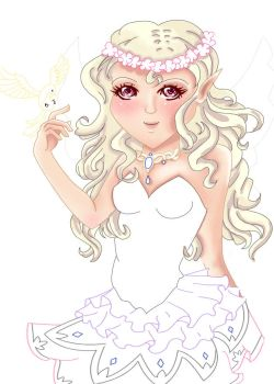 Fairy WIP by fireryangel115