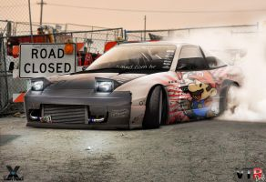 240sx Hate me Mario by Mr-Joelson