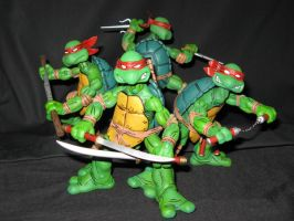 NECA TMNT group by theblindalley