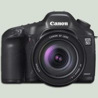 Canon 5D mkII Icon by Markus-Weldon