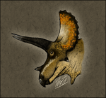 Triceratops horridus by TheJuras