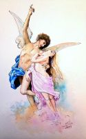 Cupid and Psyche by Noosha77