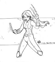 X-23 sketch by ComfortLove