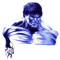 The Incredible Hulk by Omaiyee