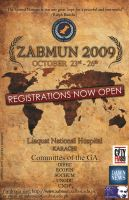 ZABMUN 2009 - Poster by hussainadil