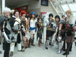 Dragon Age 2 group shot MCM Oct '11 by KaniKaniza