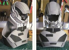 Mass Effect N7 Helmet by hsholderiii
