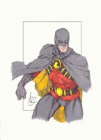 Red Robin Colored by SSGJoey