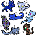 Free Kitty Cats (Closed) by ilovedragons1234