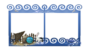Ocean Frame png by mysticmorning
