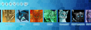 2012 Art Overview by Finchwing