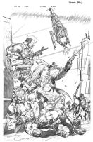 GI JOE 22 cover by RobertAtkins