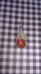 caramel apple charm by toxiclysweet