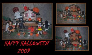 Halloween House 2009 by axelgnt
