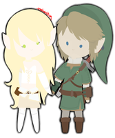 Varya and Link by IrontwistFiM
