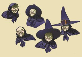 Witch head by OliverHarud