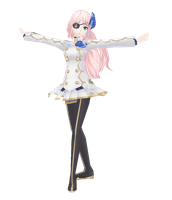 Luka Nagisa PD Ext MMD DL by bookazoid