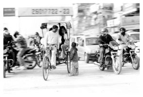 Streets of India 4 by shom