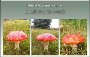 Mushroom Pack 6 by shelldevil