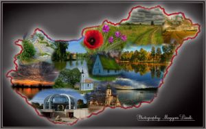 My homeland: Hungary. Montage by magyarilaszlo