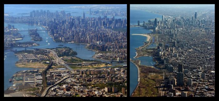 NYC vs Chicago by homrqt