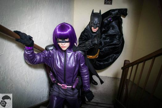 Hit Girl: Figment of Her Imagination by thecreatorscreations