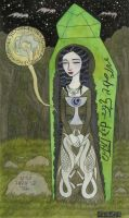 Snow White in her Glass Coffin by bethywilliams