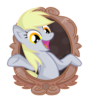 Derpy Hooves Framed by Toonlancer