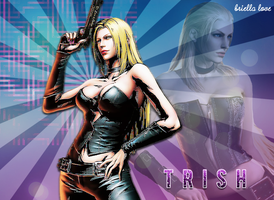 Trish Devil May Cry MVC3 Wallpaper by BriellaLove
