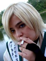 Smokin' Sanzo by NamekAngelIvy
