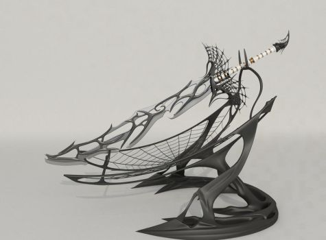 Soul of Spider sword v2.0 - final by Samouel