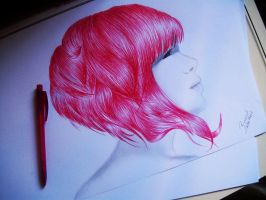 Red Hair by bruuninferreira