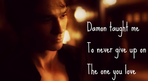 Damon Salvatore Signature by SophieTheVampire