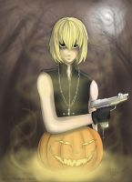 Mello's Halloween by Inakan