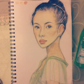 Ziyi Zhang by everythingsbeenclaim
