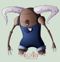 Pokepeople - Pinsir by MTC-Studios