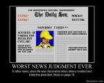 Worst News Judgement Ever by ImdaBatman