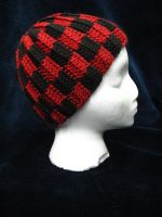 Checkered Hat by dhaskoi