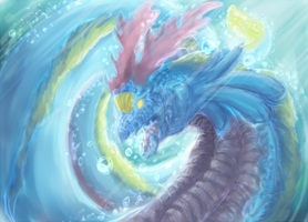 Sea dragon by Yufika