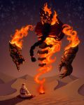 Ifrit by AspectusFuturus