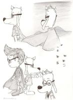 King Peabody and Sherman by Blaze-5