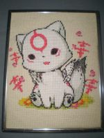 Amaterasu Cross Stitch by ChandrakantaAvani