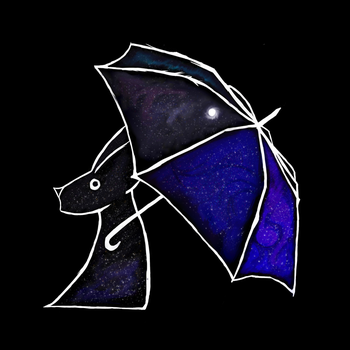Umbrella Of Pure Night by Dragonfoxing