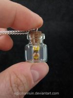 Goomba Bottle Pendant by egyptianruin