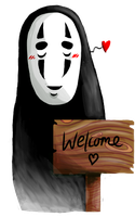No Face by liaillii