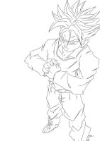 SSJ Trunks UC by darkhawk5