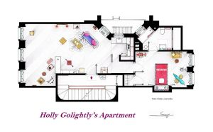 Breakfast at Tiffany's Apartment floorplan by nikneuk