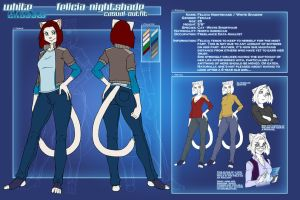 Refsheet - Felicia casual outfits by funkyalien