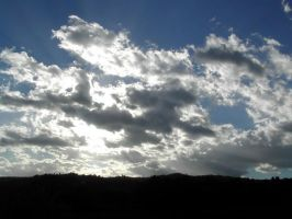 Clouds and Sun II by Ivette-Stock