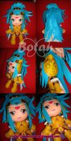 Gemini Paradox plush version by Momoiro-Botan